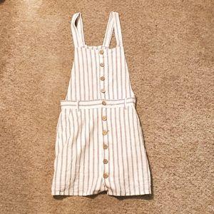 Stripped Garage Summer Dress